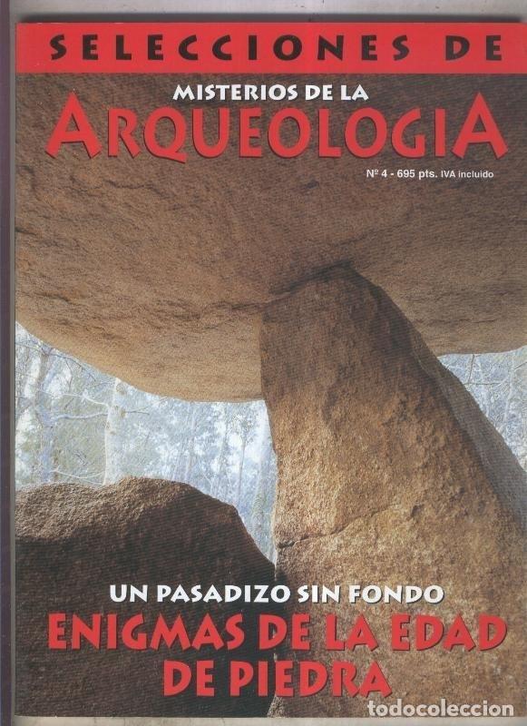 SELECCIONES DE MISTERIOS DE LA ARQUEOLOGIA NUMERO 04 (Coleccionismo - Revistas y Periódicos Modernos (a partir de 1.940) - Otros)