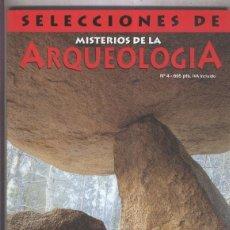 Coleccionismo de Revistas y Periódicos: SELECCIONES DE MISTERIOS DE LA ARQUEOLOGIA NUMERO 04. Lote 186052411