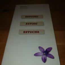 Coleccionismo de Revistas y Periódicos: ANTÓN GARCÍA - ESTOIRU - ESTOIG - ESTUCHE - JORDI F. FERNÁNDEZ FIGUERAS - MIRALL DE GLAÇ 2015. Lote 186063916