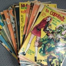 Coleccionismo de Revistas y Periódicos: LOTE 44 REVISTAS LA CODORNIZ AÑO 1972. Lote 186141825