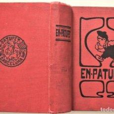 Coleccionismo de Revistas y Periódicos: EN-PATUFET AÑO COMPLETO DE 1913 + CALENDARI D´EN PATUFET AÑO 1914 - ENCUADERNACIÓN ORIGINAL. Lote 186168322