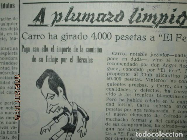 Coleccionismo de Revistas y Periódicos: ATAQUE 1957 3 RAROS PERIODICOS antiguos FUTBOL HERCULES DE alicante DEPORTIVO Nº 1 - 2- 7.- - Foto 39 - 48632104