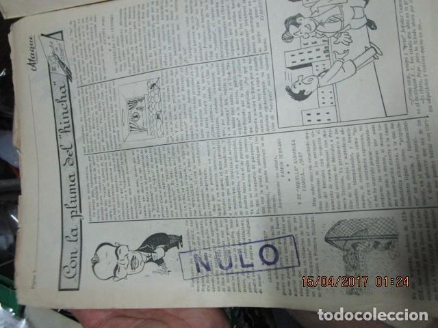 Coleccionismo de Revistas y Periódicos: ATAQUE 1957 3 RAROS PERIODICOS antiguos FUTBOL HERCULES DE alicante DEPORTIVO Nº 1 - 2- 7.- - Foto 44 - 48632104