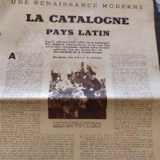 Coleccionismo de Revistas y Periódicos: LA CATALOGNE ,LLUÍS COMPANYS ETC. Lote 186210690