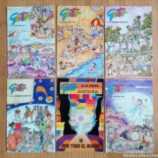 Coleccionismo de Revistas y Periódicos: LOTE 6 REVISTAS GESTO INFANCIA MISIONERA. NÚMEROS 81 - 86. 1995 1996. Lote 186215503