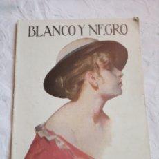 Coleccionismo de Revistas y Periódicos: REVISTA BLANCO Y NEGRO 1918. ALFONSO XIII.GALICIA.SEVILLA.DAMAS.PUBLICIDAD.. Lote 186216302