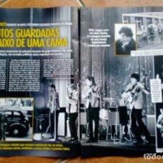 Coleccionismo de Revistas y Periódicos: ROLLING STONES,ARTIGO DE PRENSA. 2 PÁGINAS DE REVISTA. Lote 186228565