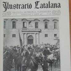 Coleccionismo de Revistas y Periódicos: ILUSTRACIO CATALANA Nº138 1906 CASA DEL BARO DE QUADRAS GRAN VIA DIAGONAL PUIG I CADAFALCH. Lote 186259160