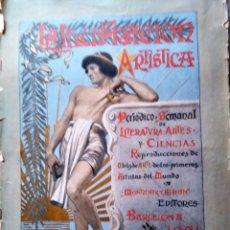 Coleccionismo de Revistas y Periódicos: LA ILUSTRACION ARTISTICA NUMERO DE AÑO NUEVO 1901 DEDICADO AL 2 DE MAYO. Lote 186300638