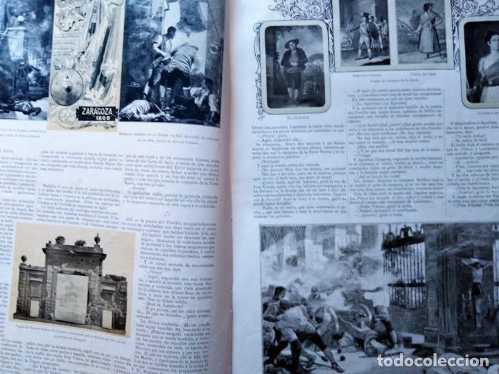 Coleccionismo de Revistas y Periódicos: LA ILUSTRACION ARTISTICA NUMERO DE AÑO NUEVO 1901 DEDICADO AL 2 DE MAYO - Foto 4 - 186300638