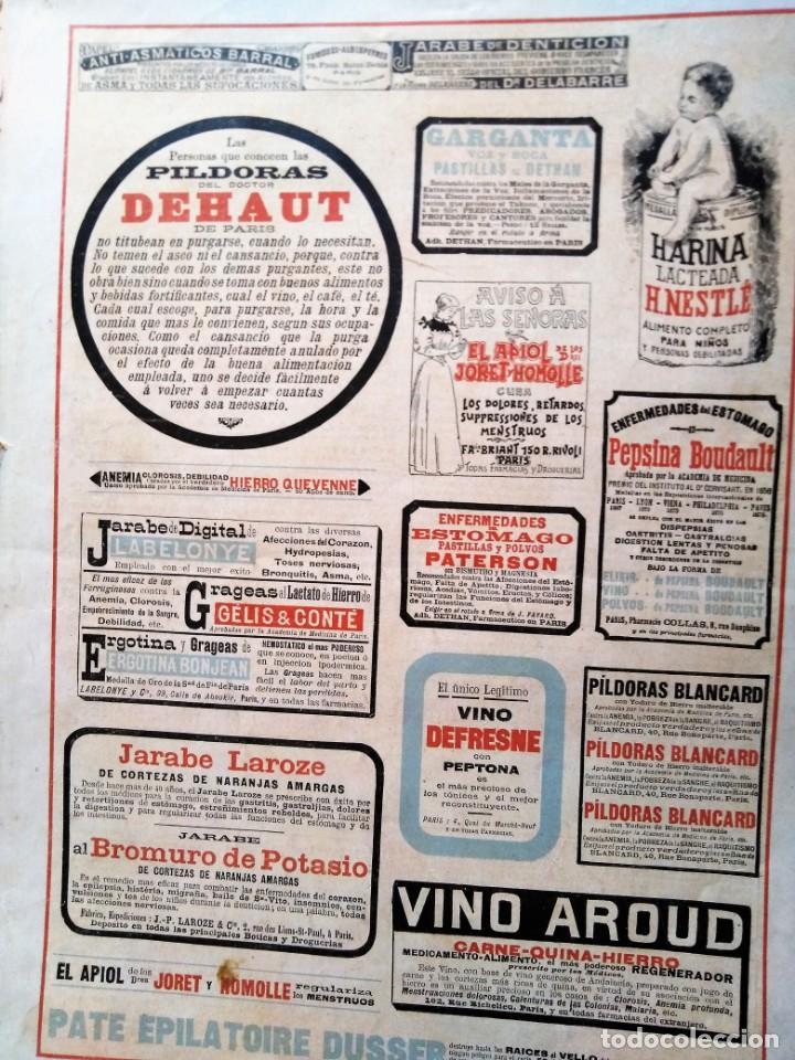 Coleccionismo de Revistas y Periódicos: LA ILUSTRACION ARTISTICA NUMERO DE AÑO NUEVO 1901 DEDICADO AL 2 DE MAYO - Foto 5 - 186300638