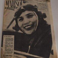 Coleccionismo de Revistas y Periódicos: MARISOL Nº 447 - 20 AGOSTO 1962 - CAROLINA Y ALBERTO DE MONACO - EMMA PENELLA VUELVE. Lote 186308420
