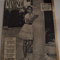 Coleccionismo de Revistas y Periódicos: MARISOL Nº 448 - 27 DE AGOSTO 1962 - CALIDOSCOPIO DE LA COSTA DEL SOL - PAUL NEWMAN. Lote 186309122