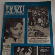 Coleccionismo de Revistas y Periódicos: MARISOL EL SEMANARI DE LA MUJER Nº 459 - 14 ENERO 1963 - ROCIO DURCAL - MARISOL - LAURA VALENZUELA. Lote 186386636