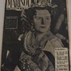 Coleccionismo de Revistas y Periódicos: MARISOL EL SEMANARIO DE LA MUJER Nº 433 - AÑO 1962 - EN BUSCA DE MIS ESPAÑA -DON JUAN CARLOS Y SOFIA. Lote 186394516