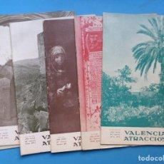 Coleccionismo de Revistas y Periódicos: VALENCIA ATRACCION, 6 ANTIGUAS REVISTAS, AÑO 1957 - VER FOTOS ADICIONALES. Lote 186395582