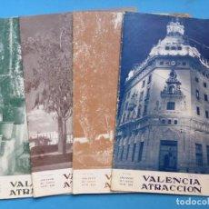 Coleccionismo de Revistas y Periódicos: VALENCIA ATRACCION, 4 ANTIGUAS REVISTAS, AÑO 1953 - VER FOTOS ADICIONALES. Lote 186396113