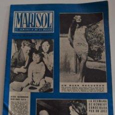 Coleccionismo de Revistas y Periódicos: MARISOL EL SEMANARIO DE LA MUJER Nº 456 - AÑO 1962 - LAS VACACIONES SUIZAS DE SOFÍA LOREN. Lote 186400747