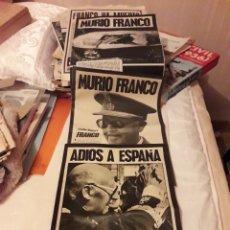 Coleccionismo de Revistas y Periódicos: LOTE PERIÓDICOS MUERTE DE FRANCO Y PROCLAMACIÓN DEL REY JUAN CARLOS. Lote 186454556