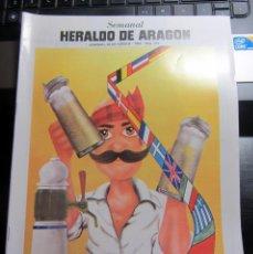 Coleccionismo de Revistas y Periódicos: SEMANAL HERALDO ARAGON 258 MATIAS URIBE 1987 PEDRO BOTERO CASETAS ZARAGOZA ALFA ROMERO 75 TWIN SPARK. Lote 186472040