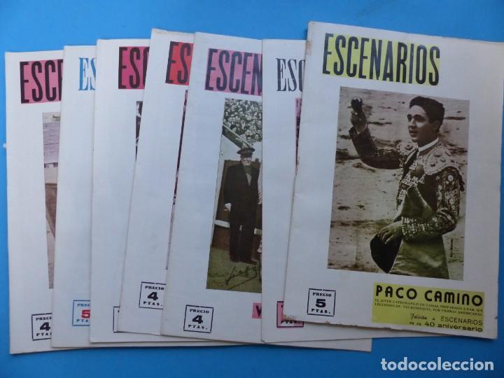 ESCENARIOS, TOROS, TEATRO Y CINE, 10 ANTIGUAS REVISTAS, AÑO 1964 - VER FOTOS ADICIONALES (Coleccionismo - Revistas y Periódicos Modernos (a partir de 1.940) - Otros)