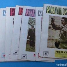 Coleccionismo de Revistas y Periódicos: ESCENARIOS, TOROS, TEATRO Y CINE, 10 ANTIGUAS REVISTAS, AÑO 1964 - VER FOTOS ADICIONALES. Lote 187092772