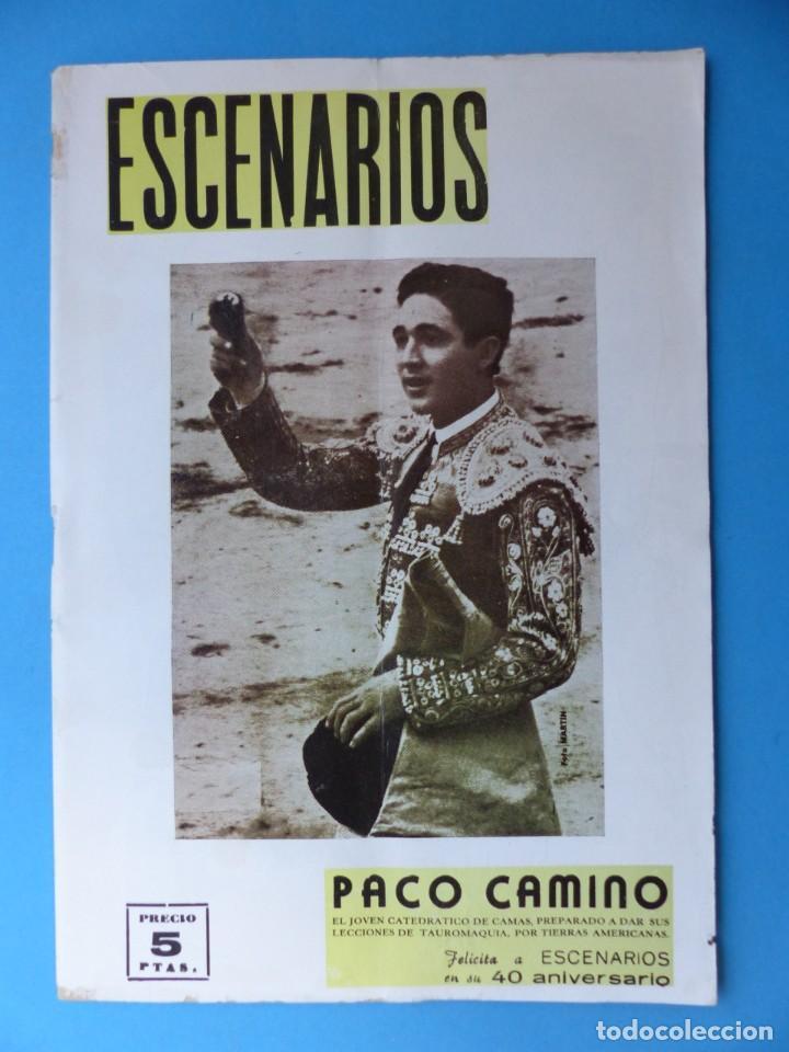 Coleccionismo de Revistas y Periódicos: ESCENARIOS, TOROS, TEATRO Y CINE, 10 ANTIGUAS REVISTAS, AÑO 1964 - VER FOTOS ADICIONALES - Foto 2 - 187092772