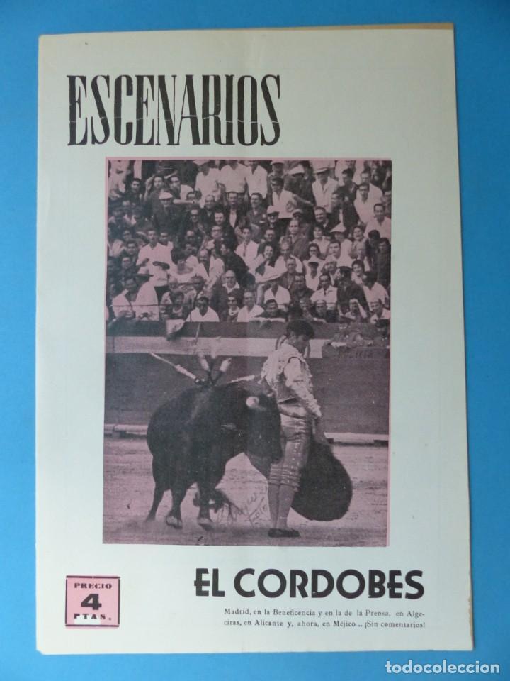 Coleccionismo de Revistas y Periódicos: ESCENARIOS, TOROS, TEATRO Y CINE, 10 ANTIGUAS REVISTAS, AÑO 1964 - VER FOTOS ADICIONALES - Foto 3 - 187092772