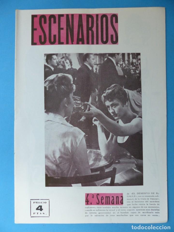 Coleccionismo de Revistas y Periódicos: ESCENARIOS, TOROS, TEATRO Y CINE, 10 ANTIGUAS REVISTAS, AÑO 1964 - VER FOTOS ADICIONALES - Foto 6 - 187092772