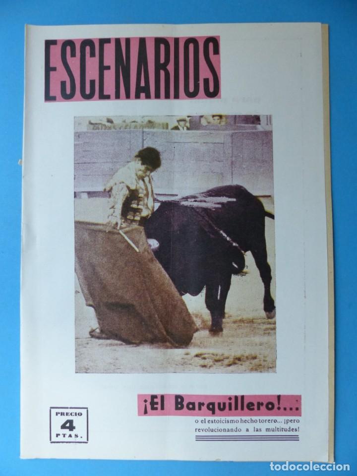 Coleccionismo de Revistas y Periódicos: ESCENARIOS, TOROS, TEATRO Y CINE, 10 ANTIGUAS REVISTAS, AÑO 1964 - VER FOTOS ADICIONALES - Foto 9 - 187092772