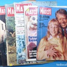 Coleccionismo de Revistas y Periódicos: PARIS MATCH, 6 ANTIGUAS REVISTAS, AÑOS 1950-1960-1970 - VER FOTOS ADICIONALES. Lote 187093751
