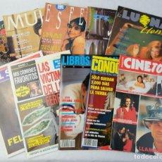 Coleccionismo de Revistas y Periódicos: LOTE 10 REVISTAS NÚMEROS 1 DEL AÑO 1991-REVISTA MUJER, CINE TOTAL, LUNA LLENA, LA ESFERA, ETC.. Lote 187113550