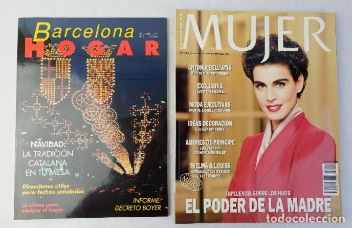 Coleccionismo de Revistas y Periódicos: Lote 10 revistas números 1 del año 1991-Revista Mujer, Cine Total, Luna Llena, La Esfera, etc. - Foto 2 - 187113550
