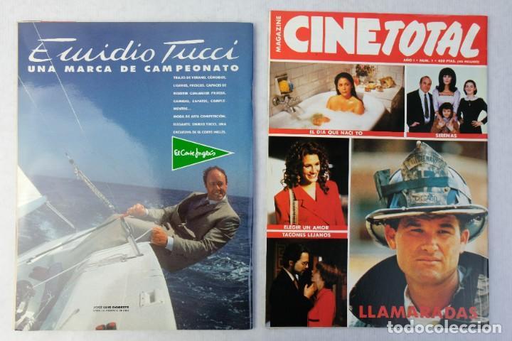 Coleccionismo de Revistas y Periódicos: Lote 10 revistas números 1 del año 1991-Revista Mujer, Cine Total, Luna Llena, La Esfera, etc. - Foto 7 - 187113550