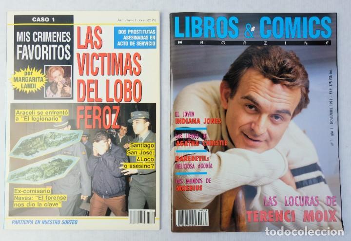 Coleccionismo de Revistas y Periódicos: Lote 10 revistas números 1 del año 1991-Revista Mujer, Cine Total, Luna Llena, La Esfera, etc. - Foto 8 - 187113550