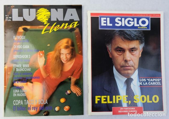 Coleccionismo de Revistas y Periódicos: Lote 10 revistas números 1 del año 1991-Revista Mujer, Cine Total, Luna Llena, La Esfera, etc. - Foto 10 - 187113550
