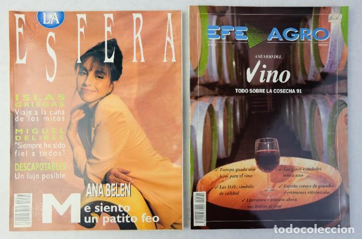 Coleccionismo de Revistas y Periódicos: Lote 10 revistas números 1 del año 1991-Revista Mujer, Cine Total, Luna Llena, La Esfera, etc. - Foto 12 - 187113550