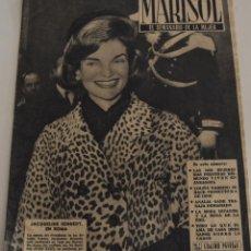Coleccionismo de Revistas y Periódicos: MARISOL EL SEMANARIO DE LA MUJER Nº 425 - AÑO 1962 - JACQUELINE KENNEDY - LOLA FLORES - ANALIA GADE. Lote 187164358