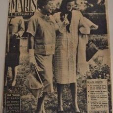 Coleccionismo de Revistas y Periódicos: MARISOL EL SEMANARIO DE LA MUJER Nº 437 - RUMORES DE NOVIAZGO, NATALIA FIGUEROA Y VICENTE PARRA. Lote 187169346