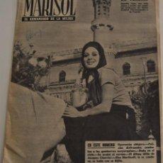 Coleccionismo de Revistas y Periódicos: MARISOL EL SEMANARIO DE LA MUJER Nº 451 -VENECIA, CIERRE DEL FESTIVAL -RENE MUÑOZ RUEDA CRISTO NEGRO. Lote 187170282