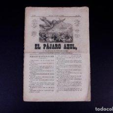 Collectionnisme de Revues et Journaux: EL PÁJARO AZUL, Nº 23. BARCELONA 1862. Lote 187267332
