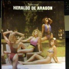 Coleccionismo de Revistas y Periódicos: SEMANAL HERALDO ARAGON 248 1987 ARTICULO MATIAS URIBE MUSICA OS RESENTIDOS OPEL SENATOR. Lote 187385655