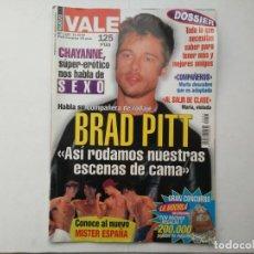 Coleccionismo de Revistas y Periódicos: REVISTA NUEVO VALE N°1055 BRAD PITT RICKY MARTIN CHAYANNE COMPAÑEROS MISTER ESPAÑA 1999. Lote 187419372