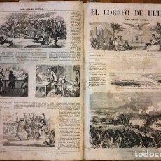 Coleccionismo de Revistas y Periódicos: EL CORREO DE ULTRAMAR - 1855 - 26 NÚMEROS - NUMEROSOS GRABADOS. Lote 187428082