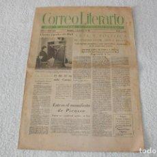 Coleccionismo de Revistas y Periódicos: PERIÓDICO: CORREO LITERARIO (1 DE NOVIEMBRE DE 1951) - DALÍ, PICASSO, GABRIELA MISTRAL...... Lote 187430472