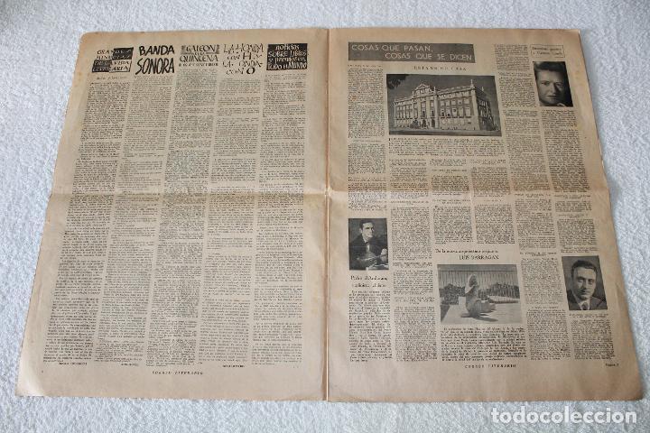 Coleccionismo de Revistas y Periódicos: PERIÓDICO: CORREO LITERARIO (1 de Noviembre de 1951) - DALÍ, PICASSO, GABRIELA MISTRAL..... - Foto 3 - 187430472