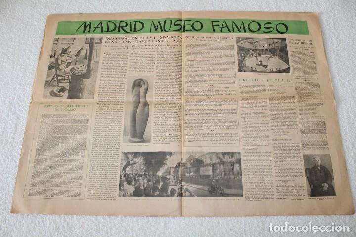 Coleccionismo de Revistas y Periódicos: PERIÓDICO: CORREO LITERARIO (1 de Noviembre de 1951) - DALÍ, PICASSO, GABRIELA MISTRAL..... - Foto 6 - 187430472