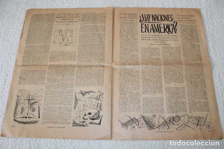 Coleccionismo de Revistas y Periódicos: PERIÓDICO: CORREO LITERARIO (1 de Noviembre de 1951) - DALÍ, PICASSO, GABRIELA MISTRAL..... - Foto 7 - 187430472