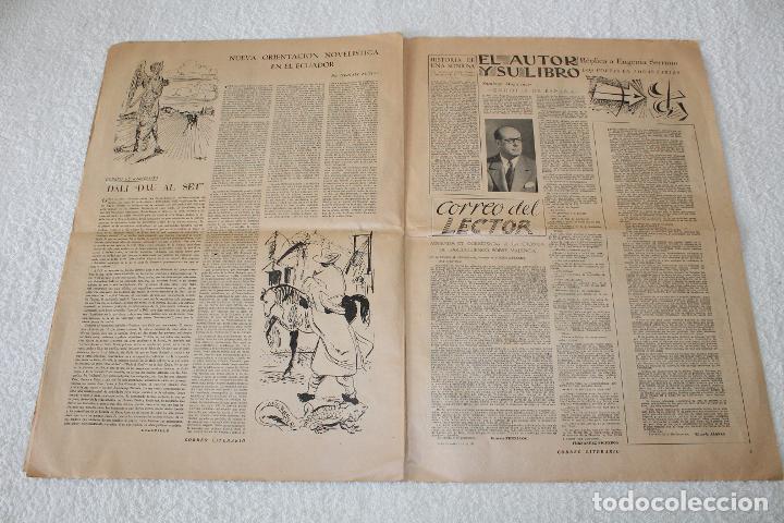 Coleccionismo de Revistas y Periódicos: PERIÓDICO: CORREO LITERARIO (1 de Noviembre de 1951) - DALÍ, PICASSO, GABRIELA MISTRAL..... - Foto 9 - 187430472