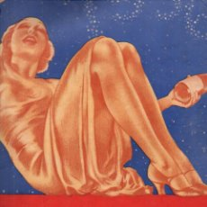 Coleccionismo de Revistas y Periódicos: REVISTA CRÓNICA EXTRAORDINARIO AÑO NUEVO 1936 - 100 PÁGINAS, MANASSE, RIBAS, BAYO.... Lote 187484846